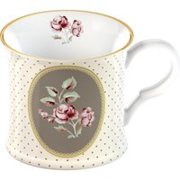 Creative Tops Katie Alice Ditsy Floral Porcelánový hrnek White Oval 250 ml