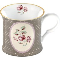 Creative Tops Katie Alice Ditsy Floral Porcelánový hrnek Grey Oval 250 ml
