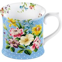 Creative Tops Katie Alice English Garden Porcelánový hrnek modrý 295 ml