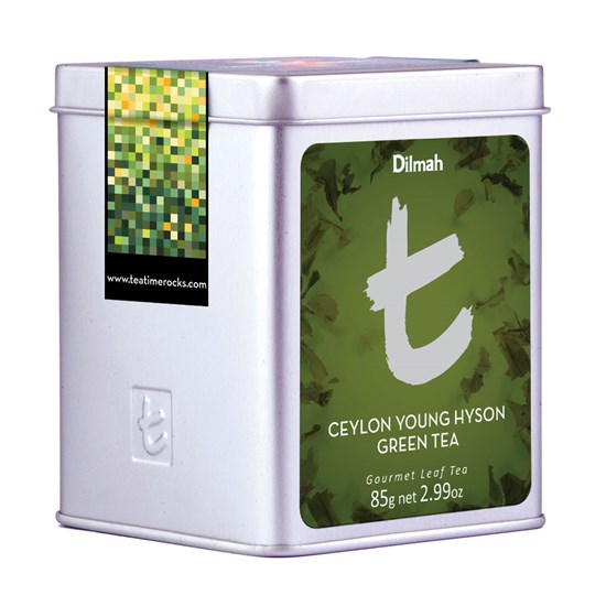 Dilmah T-series Ceylon Young Hyson Green Tea 85 g