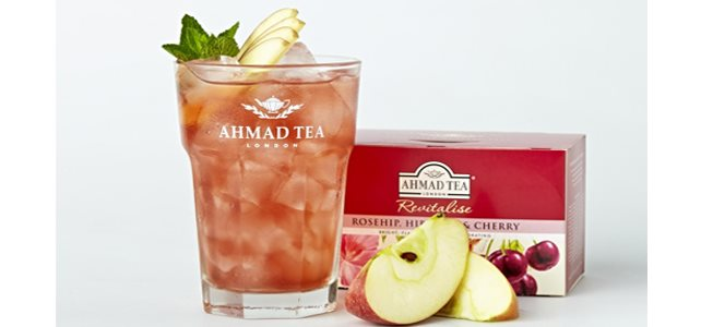 Ahmad Tea Summer Garden Ice Tea recept na ledový čaj