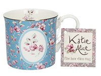 Creative Tops Katie Alice Ditsy Floral Porcelánový hrnek Blue 230 ml