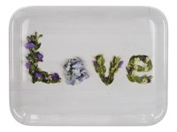 Creative Tops Everyday Home Floral Love Melaminový tác 38,5 x 27,5 cm