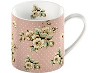 Creative Tops Katie Alice Cottage Flower Porcelánový hrnek Pink Floral 330 ml