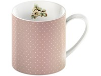 Creative Tops Katie Alice Cottage Flower Porcelánový hrnek Pink Spot 330 ml