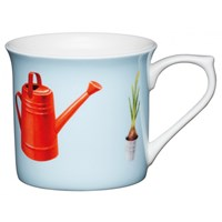 Kitchen Craft Porcelánový hrníček Watering Can 300 ml