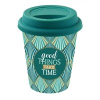 Easy Life Cups & Mugs Coffee Mania Cestovní hrnek Good Things Take Time 220 ml