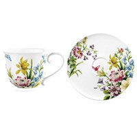 Creative Tops Katie Alice English Garden Porcelánový šálek s podšálkem 150 ml