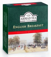 Ahmad Tea English Breakfast se šňůrkou 100 x 2 g