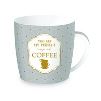 Easy Life Cups & Mugs Coffee or Tea Porcelánový hrnek na kávu You Are My Perfect Cup Of Coffee 350 ml