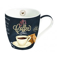 Easy Life Cups & Mugs Coffee Mania Porcelánový hrnek na kávu It´s Coffee Time 350 ml
