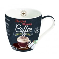 Easy Life Cups & Mugs Coffee Mania Porcelánový hrnek na kávu The Best Morning 350 ml