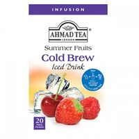 Ahmad Tea Cold Brew Iced Tea Summer Fruit Infusion 20 x 2 g