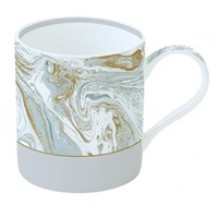 Easy Life Cups & Mugs Malachite Porcelánový hrnek Grey 350 ml