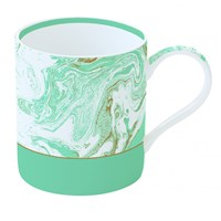 Easy Life Cups & Mugs Malachite Porcelánový hrnek Light Blue 350 ml