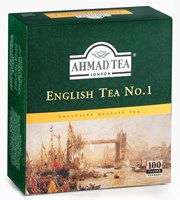 Ahmad Tea English Tea No.1 se šňůrkou 100 x 2 g