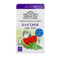 Ahmad Tea Cold Brew Iced Tea Watermelon & Mint 20 x 2 g