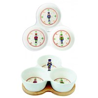 Easy Life Nutcracker Porcelánové misky 3 ks