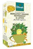 Dilmah Infusions Bergamot Orange, Peppermint & Lemon Bylinný čaj 20 x 2 g