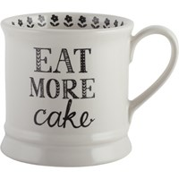 Creative Tops Stir It Up Keramický hrnek Eat More Cake 280 ml