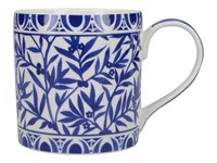 Creative Tops V&A The Cole Collection Porcelánový hrnek Floral Geo White 450 ml