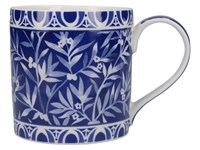 Creative Tops V&A The Cole Collection Porcelánový hrnek Floral Geo Navy 450 ml