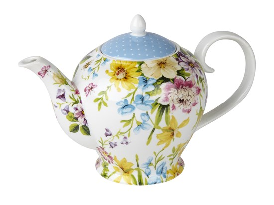 Creative Tops Katie Alice English Garden Porcelánová konvice na čaj 1250 ml