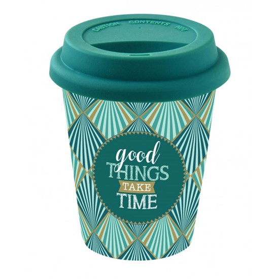 Cestovní hrnek Good Things Take Time 220 ml