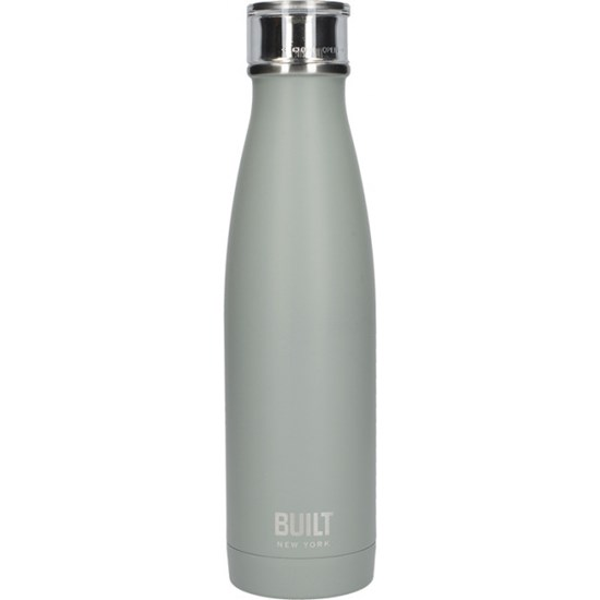 Creative Tops BUILT Hydration Láhev na vodu šedozelená 480 ml
