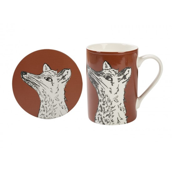 Creative Tops Into the Wild Porcelánový hrnek s liškou Fox 300 ml