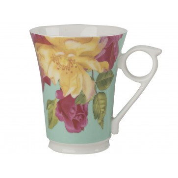 Creative Tops Royal Botanic Gardens Kew Southbourne Rose Porcelánový hrnek Green 300 ml