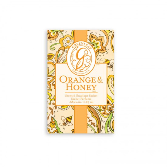 Greenleaf Orange & Honey Small Vonný sáček 11 ml